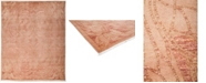 """Timeless Rug Designs CLOSEOUT! One of a Kind OOAK3245 Rose 8'2"""" x 9'10"""" Area Rug"""