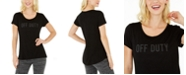 Ideology Off Duty Graphic T-Shirt, Created for Macy's