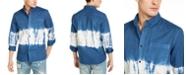 Sun + Stone Men's Horizon Tie Dye Shirt, Created for Macy's