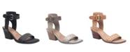 Nicole Amabel Double Strap Low-Heeled Sandal