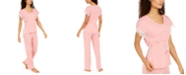 Charter Club Lace-Trim Pajama Set, Created for Macy's