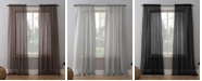 "Lichtenberg No. 918 Crushed Voile 51"" x 95"" Sheer Curtain Panel"