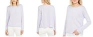 Eileen Fisher Boxy Roll-Edge Sweater