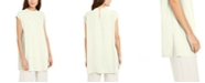 Eileen Fisher Sleeveless Funnel-Neck Tunic Top, Created for Macy's