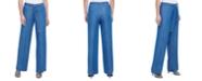 Calvin Klein Wide-Leg Pull-On Pants