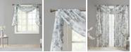 "Madison Park Simone 42"" x 144"" Floral Sheer Scarf Valence"