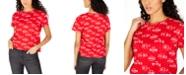 Freeze 24-7 Juniors' Coca-Cola Printed Graphic T-Shirt