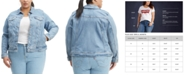 Levi's Trendy Plus Size  Trucker Denim Jacket