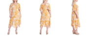 Jessica Simpson Trendy Plus Size Toni Printed Dress