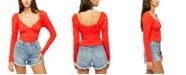 Free People Ladybug Long-Sleeve Top