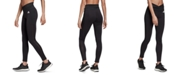 adidas Women's Mesh 3-Stripe High-Waist Leggings