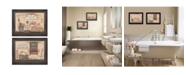 Trendy Decor 4U Trendy Decor 4u Wash Room Collection by Pam Britton, Printed Wall Art, Ready to Hang Collection
