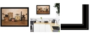 Trendy Decor 4U Trendy Decor 4u the Daily Grind by Billy Jacobs, Ready to Hang Framed Print Collection