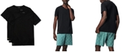 Lacoste Men's Essential Cotton V-Neck Lounge Undershirts Set, 3-Piece