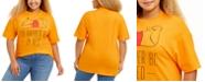 Love Tribe Trendy Plus Size Cotton Pooh Graphic T-Shirt