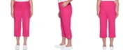 Alfred Dunner Laguna Beach Button-Trimmed Capri Pants