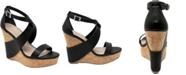 CHARLES by Charles David Atlantis Wedge Sandals