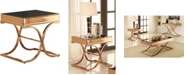 Furniture of America Xander Square Mirrored End Table