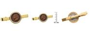American Coin Treasures Indian Penny Coin Tie Clip