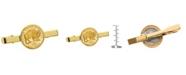 American Coin Treasures Gold-Layered Westward Journey Bison Nickel Coin Tie Clip