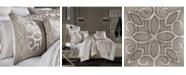 J Queen New York Deco Queen Comforter Set, 4 Piece