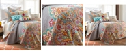 Levtex Marielle Damask Reversible King Quilt Set