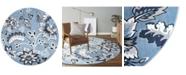 "Global Rug Designs Haven Lane Hal04 Mist 7'10"" x 7'10"" Round Rug"
