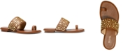 Michael Kors Sonya Studded Flat Sandals
