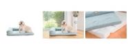 Armarkat Bolstered Pet Memory Foam Cushion Bed