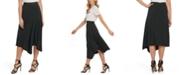 DKNY Asymmetric Pull-On Skirt