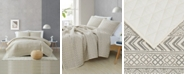 Brooklyn Loom Chase Geometric Print 3-Piece Full/Queen Quilt Set