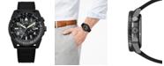 Citizen Eco-Drive Men's Promaster Black Leather Strap Watch 42mm