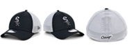 New Era Men's Chicago White Sox Black White Gradient Trucker 39THIRTY Cap