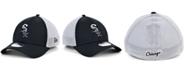 New Era Men's Chicago White Sox Black White Gradient Trucker 39THIRTY Cap
