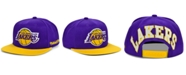 Mitchell & Ness Los Angeles Lakers The Drop Snapback Cap