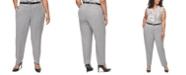 Calvin Klein Plus Size Slim Ankle-Length Pants