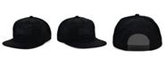 Mitchell & Ness Houston Rockets HWC Under The Black Snapback Cap