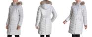 Michael Kors Faux-Fur Trim Hooded Down Coat, Created for Macy's