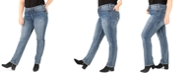 Silver Jeans Co. Plus Size Avery Straight-Leg Jeans