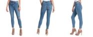 Jessica Simpson Asymmetric-Waist Tapered Skinny Jeans