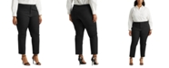 Lauren Ralph Lauren Plus Size Stretch-Infused Pants