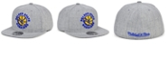 Mitchell & Ness Golden State Warriors Hardwood Classic Team Heather Fitted Cap