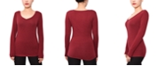 Aveto Juniors' V-Neck Long-Sleeved Top