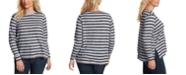 Jessica Simpson Trendy Plus Size Lisa Printed Top