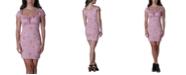 Ultra Flirt Juniors' Emma Ruched Slim Dress
