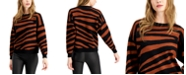 Bar III Tiger Striped Sweater, Created for Macy's