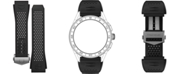 TAG Heuer Men's Connected Interchangeable Black Rubber Strap Watch 45mm