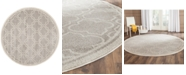 Safavieh  Amherst Indoor/Outdoor 5' x 5' Round Area Rug