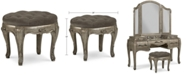 Furniture Zarina Vanity Stool