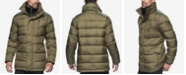 Marc New York Puffer Coat with Attached Bib